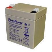 4pcs Bateria 12v 5ah First Power Fp1250 Nobreak Sms 9819