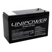 4pcs Bateria Unipower 12v 9ah Sms Apc Alarmes No Breaks