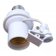 50pcs Soquete Sensor Fotocelula Rele Iluminacao E27 Coruja