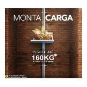 Elevador De Carga Rossi 5,00mts Cargas Até 80kgs Rápido 220v