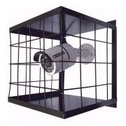 6pcs Grade Proteção Gaiola Câmera Segurança Cftv Preta 15x15