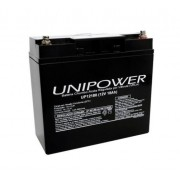 Bateria 12v 18ah Unipower No Break Apc Sms Up12180 Nova