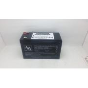 Bateria Unipower 12v 9ah Sms Apc Alarmes No Breaks