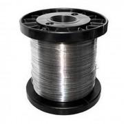 Carretel Arame Aço Inox Cerca Eletrica Fio 0,45mm 380mts
