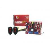 Central Placa Portão Eletronico Omega Sat Easy + 2 Controles