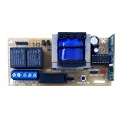 Central Portao Mkn Lgt Fit + 2 Controles + Fim Curso + Cap