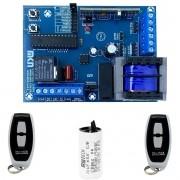 Placa Eletronica Rgg Mix 433mhz Controles Capacitor