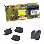 Placa Ppa Pop Motor Portão 2 Controles Ppa E 03 Tx Car Ipec