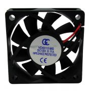 Ventilador Cooler Ventuinha Gc 60x60x15mm 12v Nova