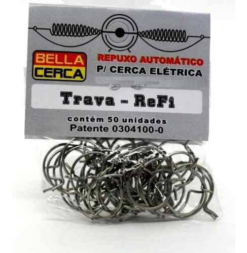 200pcs Trava Re-fi Para Mola Tipo Repuxo Bella Cerca Pacote