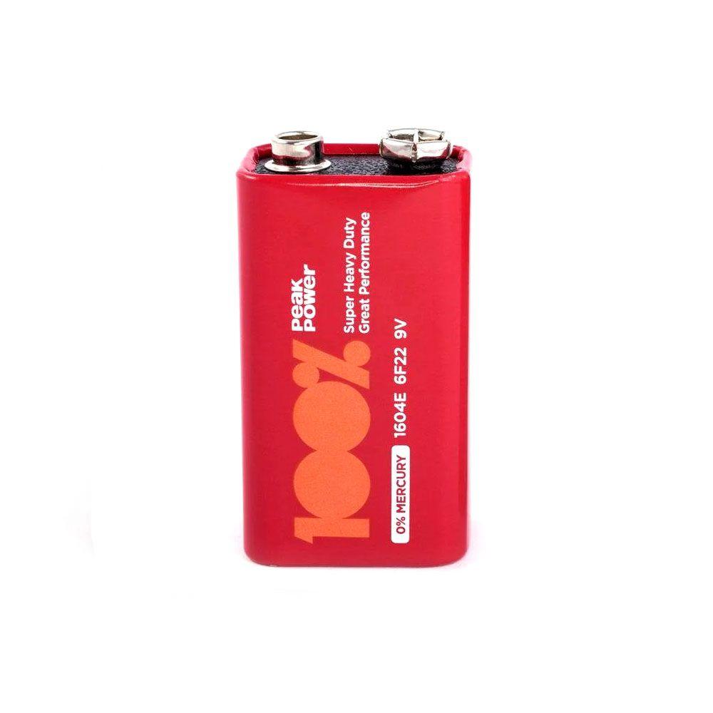 20pcs Bateria Pilha 9v 100% Peak Power Original Nota Fiscal