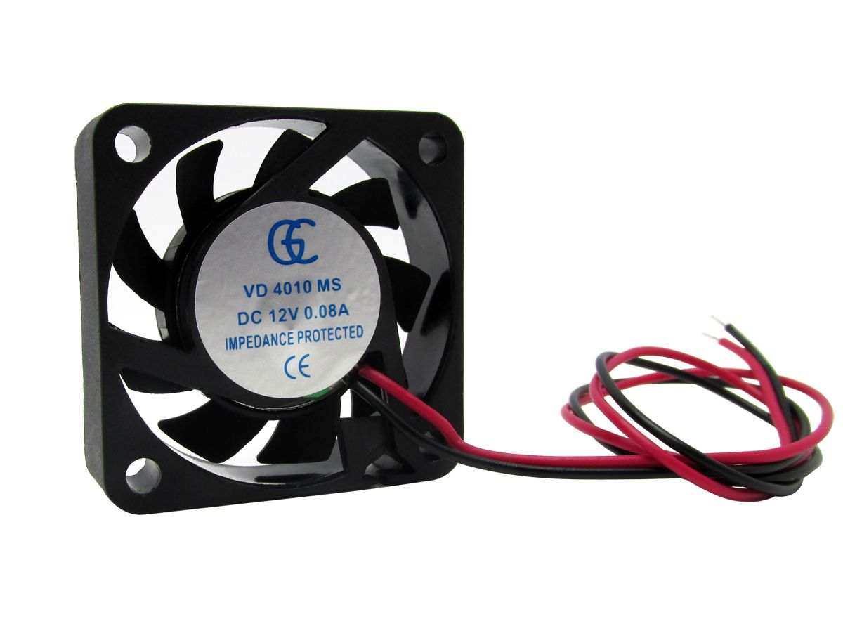 20pcs Ventilador Cooler Ventuinha Gc 40x40x10mm 12v Fan Nova Qualidade Nota Fiscal