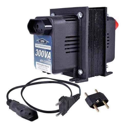 Transformador De Voltagem 300va 210w 110/220v E 220/110v