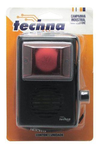 Campainha Telefone Auxiliar Audiovisual 220v Controle Audio