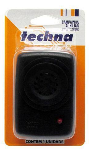 Campainha Auxiliar Telefone Techna Aumenta Toque Telefone