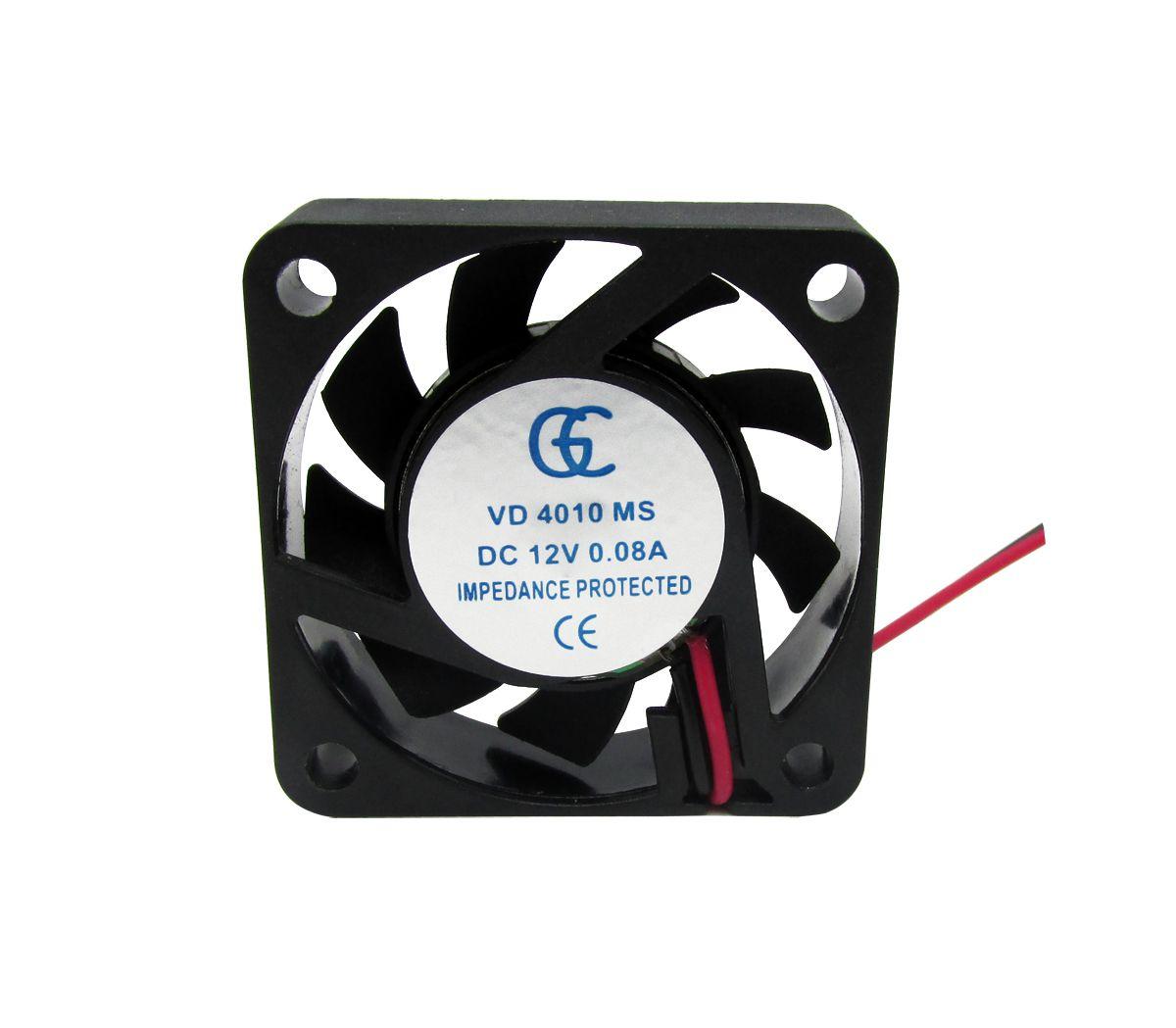 25pcs Ventilador Cooler Ventuinha Gc 40x40x10mm 12v Fan Nova Qualidade Nota Fiscal