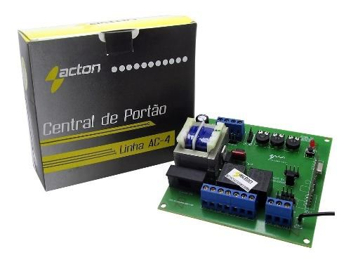 Central Placa De Portão Eletronico Rossi Ppa Garen Acton Ac3