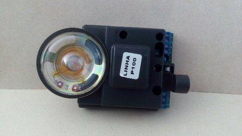 Placa Reposição Interfone Porteiro Externo Agl P100 Pequeno