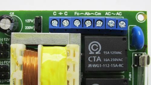 Central Placa Portão Eletronico G100 Rossi Ppa Garen 433mhz