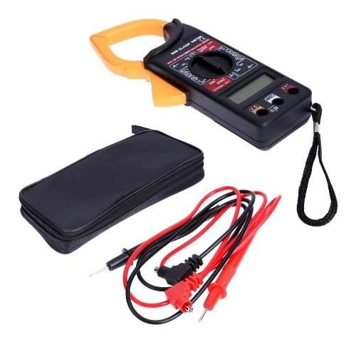 2pcs Alicate Amperímetro Digital 266 Estojo Com Bateria 9v