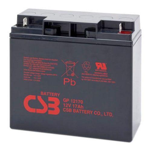 2pcs Bateria 12v 17ah Csb No Break Apc Sms Gp12170
