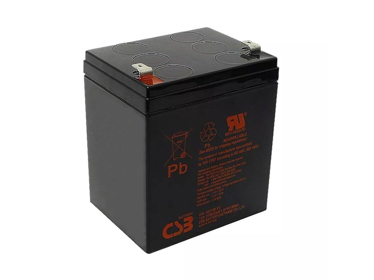 2pcs Bateria 12v 5ah Csb No Break Apc Sms Hr1221w Original