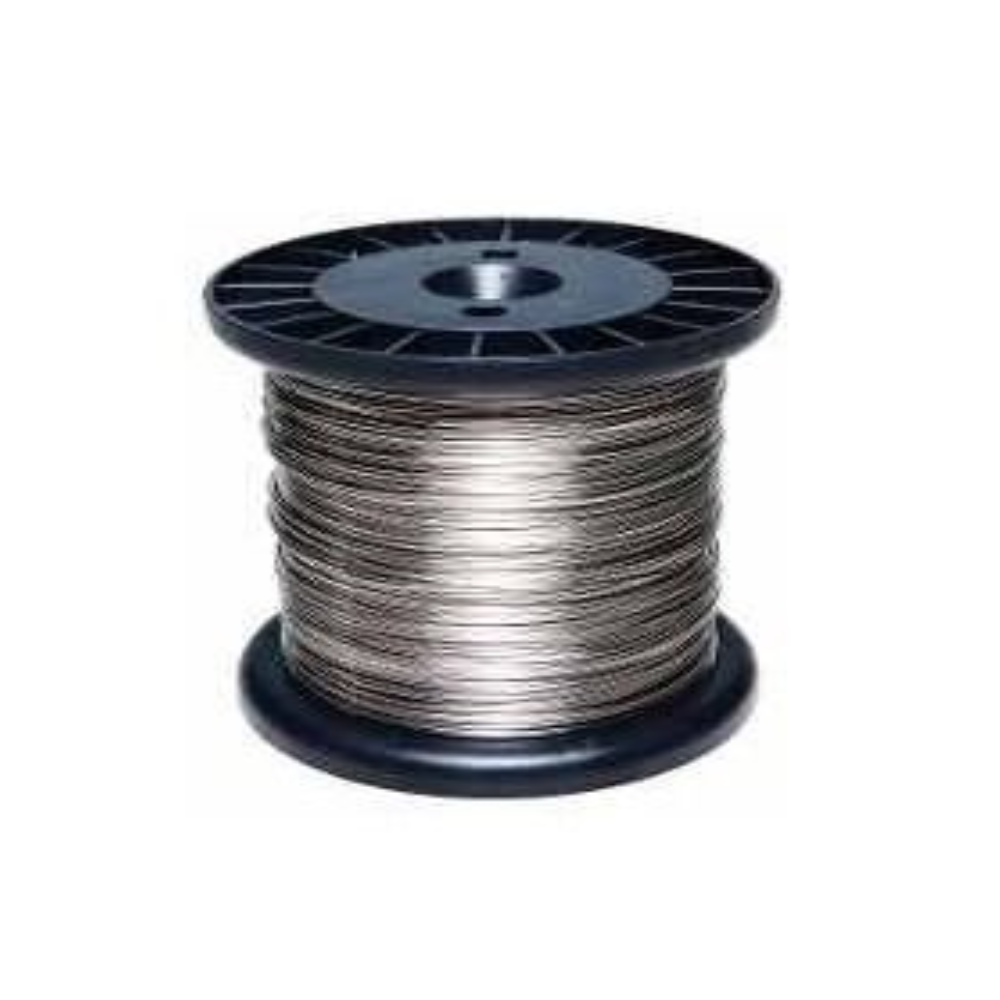 2pcs Carretel Arame Aço Inox Cerca Elétrica 0,60mm 320mts