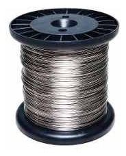 2pcs Carretel Arame Aço Inox Cerca Eletrica Fio 0,90mm 150mt