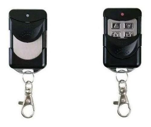 2pcs Controle Remoto Porta Aco Enrolar Compativel Mega Atron