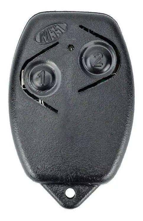 2pcs Controle Remoto Portão Eletrônico Rossi 433mhz Original Kit Com 02 Unidades Segue Com Pilha