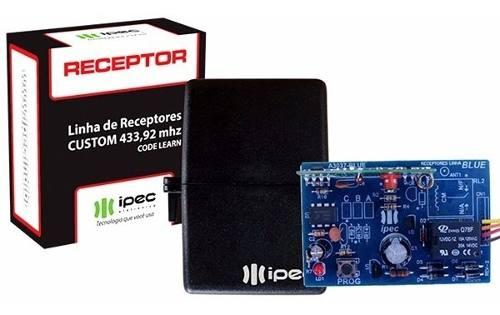 2pcs Receptor Ipec Mono Controle 1 Canal 433mhz Multicodigo