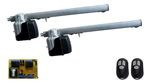 Kit Motor Portão Rcg Pivotante Para Portão 2 Folhas 1,50mts