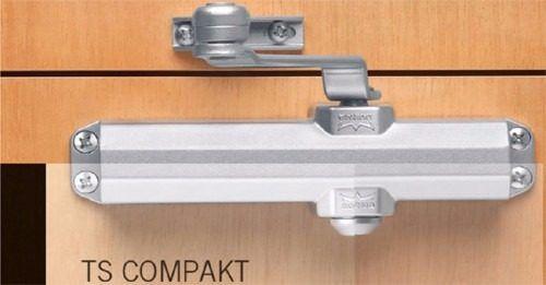 Mola Para Porta Aerea Dorma Ts Compakt Branca Ajustavel