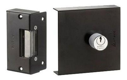 Fechadura Elétrica Amelco Modelo Fn65 12v Reversivel Nova