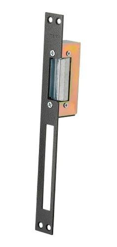 Fecho Amelco Eletromagnetico 12v Fe61 Batentes Longos