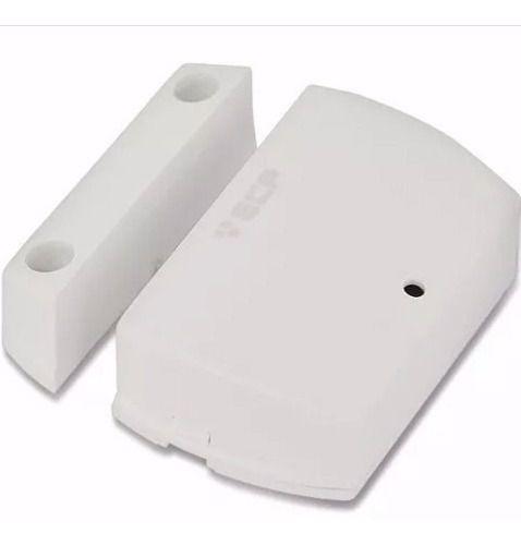 Sensor Alarme Ecp Sem Fio Para Portas E Janelas Intruder