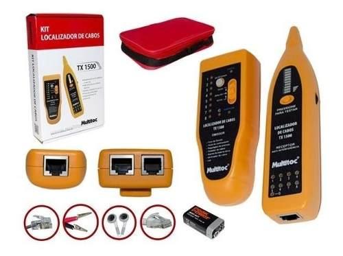 Localizador Identificador De Cabos Tx1500 Multitoc Com Kit