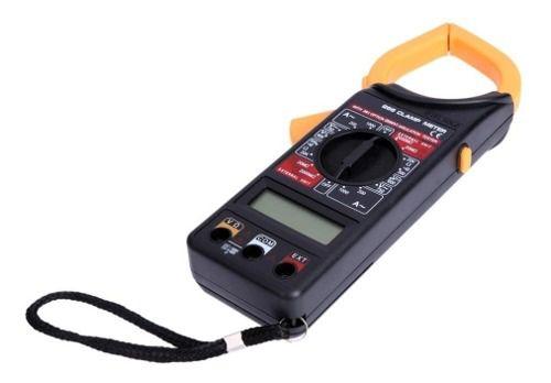 3pcs Alicate Amperímetro Digital 266 Estojo Com Bateria 9v