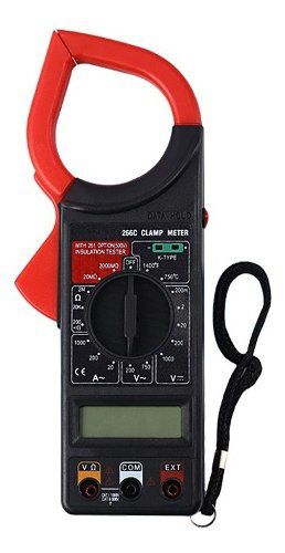 3pcs Alicate Amperímetro E Multímetro Digital Temperatura