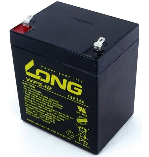 3pçs Bateria 12v 5a Long Nobreak Sms Apc Wp5-12