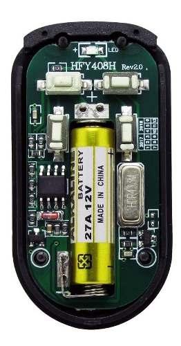 3pcs Controle Remoto Alarme Portão 4 Botoes Cromado Tx Cromo
