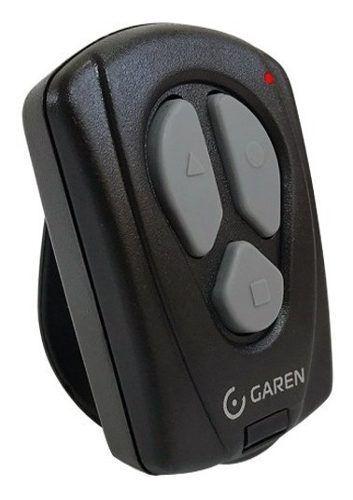 3pcs Controle Remoto Motor De Portão Garen Original 433mhz