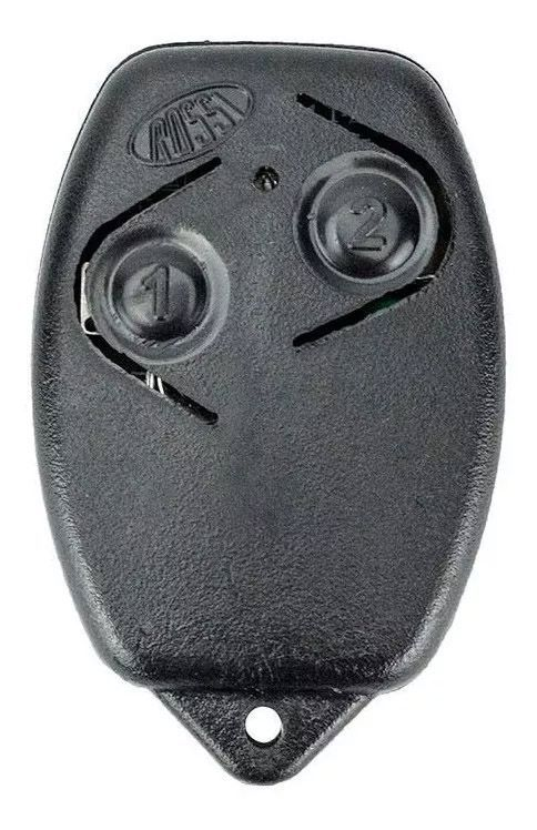 3pcs Controle Remoto Portão Eletrônico Rossi 433mhz Original Kit Com 03 Unidades Segue Com Pilha