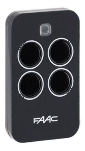 3pcs Controle Remoto Rossi Faac Xt4 433mhz Porta Aco Enrolar