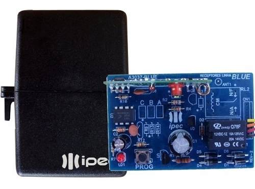 3pcs Receptor Ipec Mono Controle 1 Canal 433mhz Multicodigo