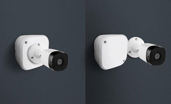 40pcs Caixa Plastica Organizadora Camera Cftv Parafuso 100x100x50mm