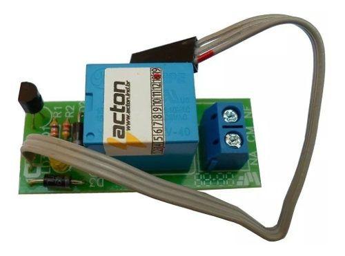 Modulo Acton Trava Elétrica Sinaleiro Motor De Portão Placa