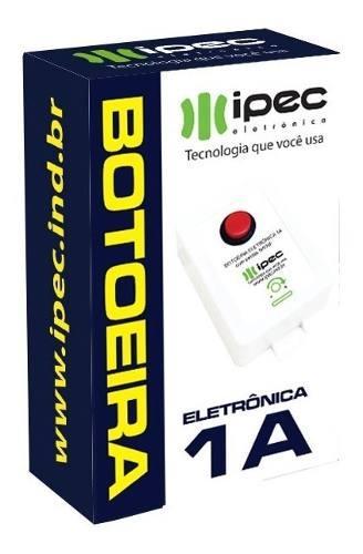 Botoeira Botao Eletronica 1a Para Fechadura Eletromagnetica M150 Na Nf Possui Carregador