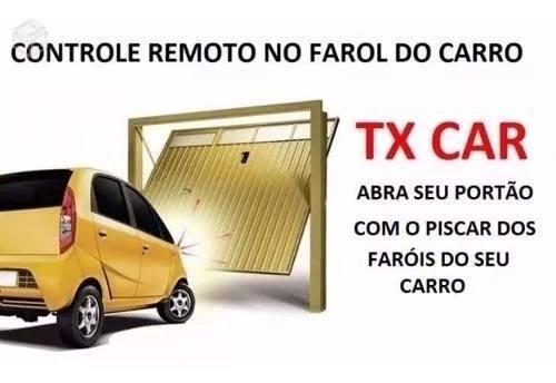 Controle Tx Car Peccinin Original Aciona Com Farol Carro