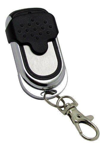 4pcs Controle Remoto Alarme Portão 4 Botoes Cromado Tx Cromo
